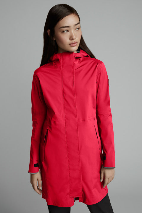 SALIDA RAIN JACKET - RED