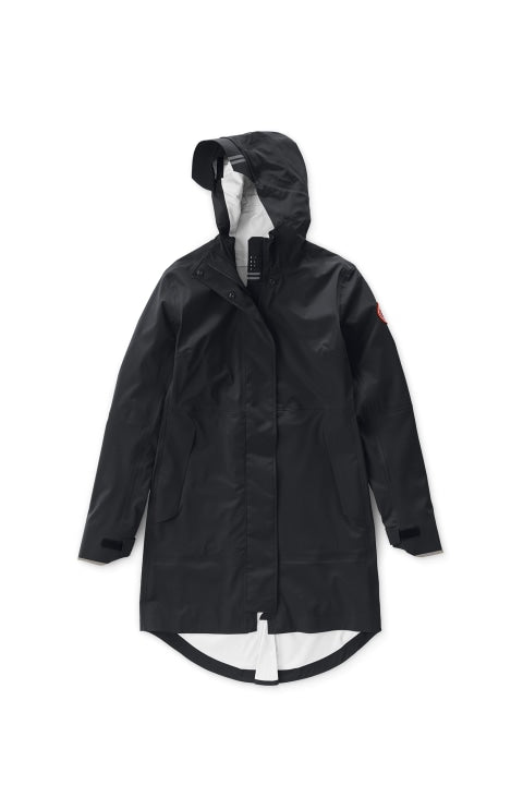 SALIDA RAIN JACKET - BLACK