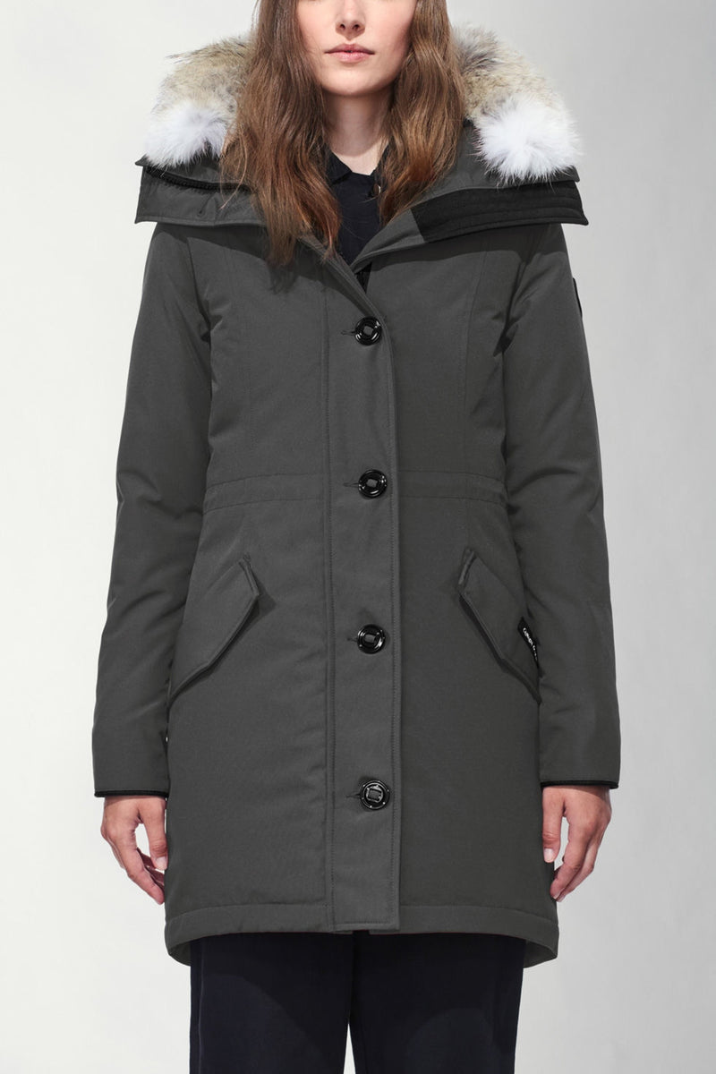 BLACK LABEL ROSSCLAIR PARKA - GRAPHITE
