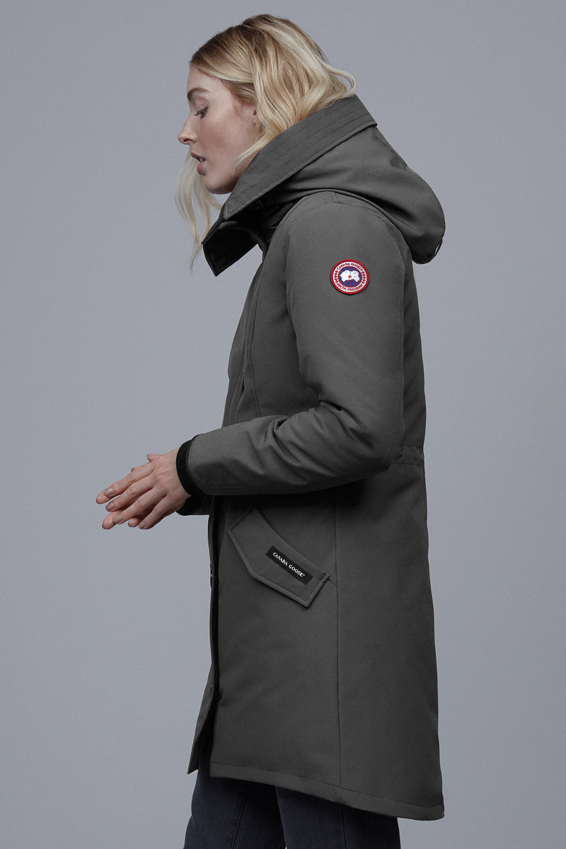 ROSSCLAIR PARKA - GRPAHITE