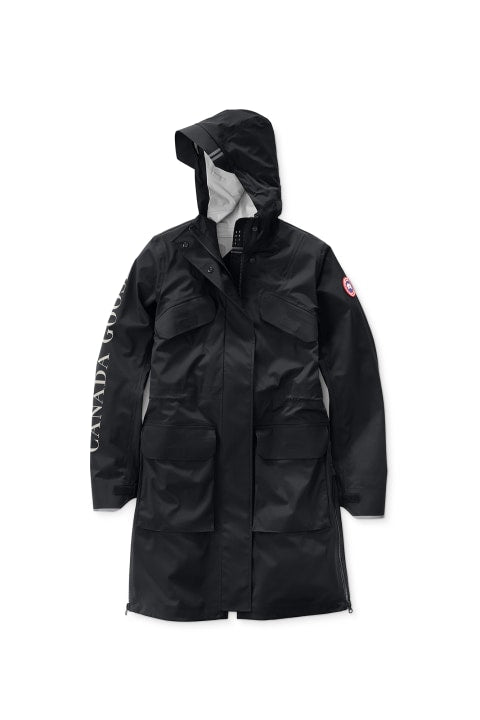 SEABOARD RAIN JACKET - BLACK