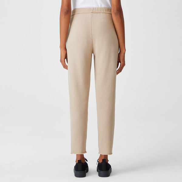 ORGANIC LINEN CROPPED PANT
