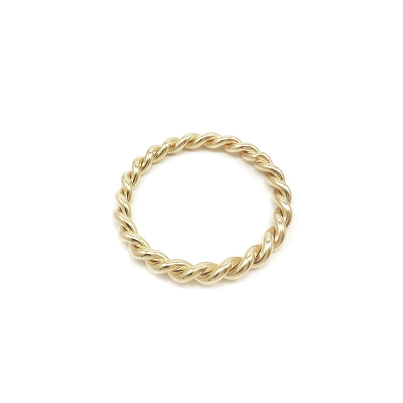 TWIST BANGLE - GOLD