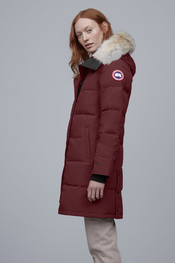 SHELBURNE PARKA - ELDERBERRY