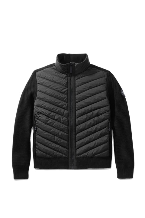 BLACK LABEL HYBRIDGE KNIT JACKET