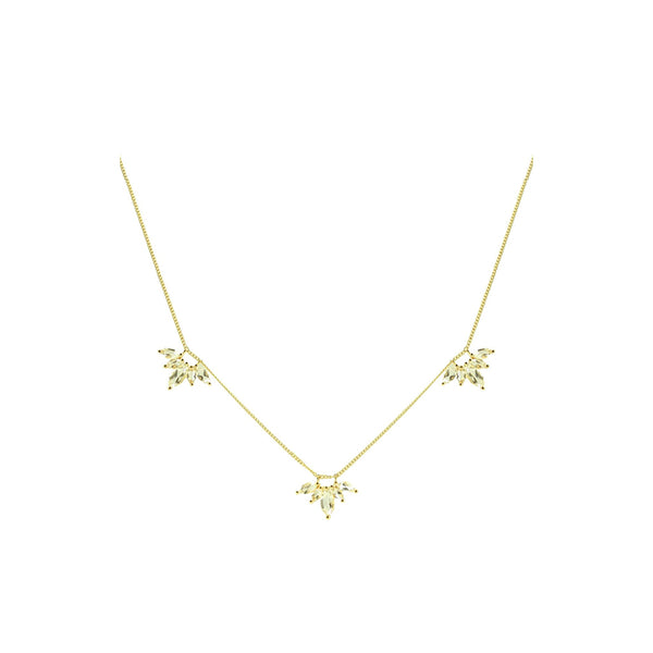 UNITY CROWN NECKLACE - GOLD