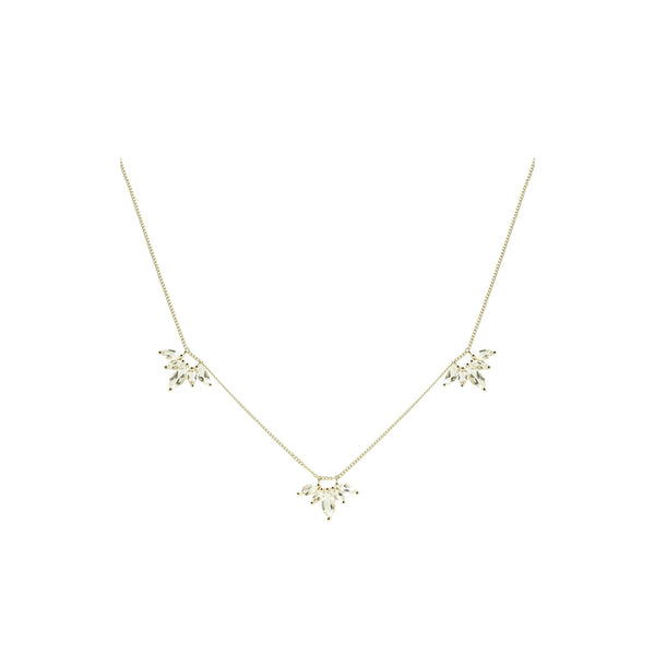 UNITY CROWN NECKLACE - SILVER