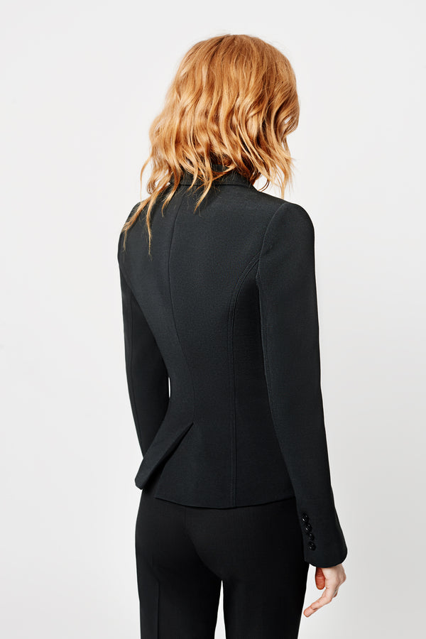WRAP BLAZER BLACK