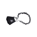 FACE MASK / GLASSES CHAIN - BLACK