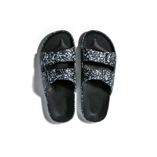BLACK SPLATTER SLIDE