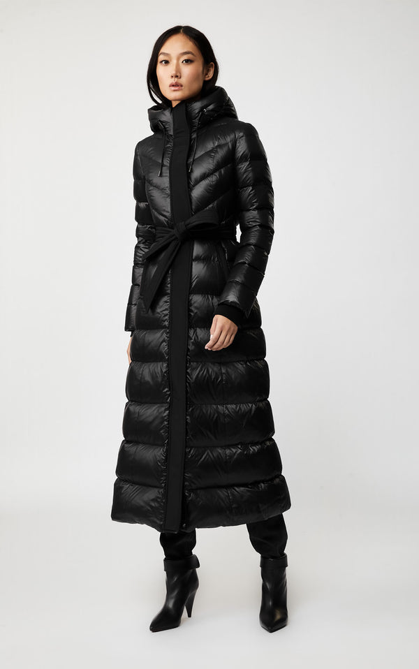 CALINA MAXI PUFFER COAT