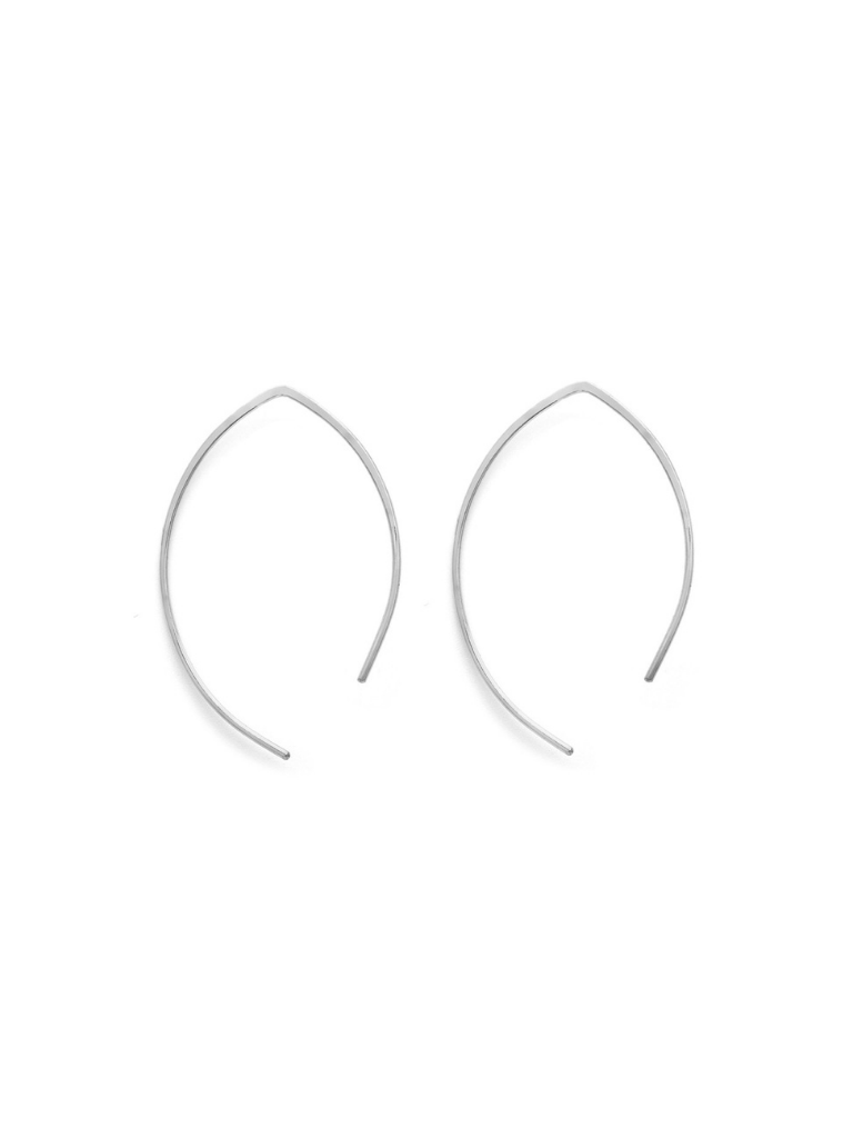 ARCH EARRINGS | SILVER - MEDIUM