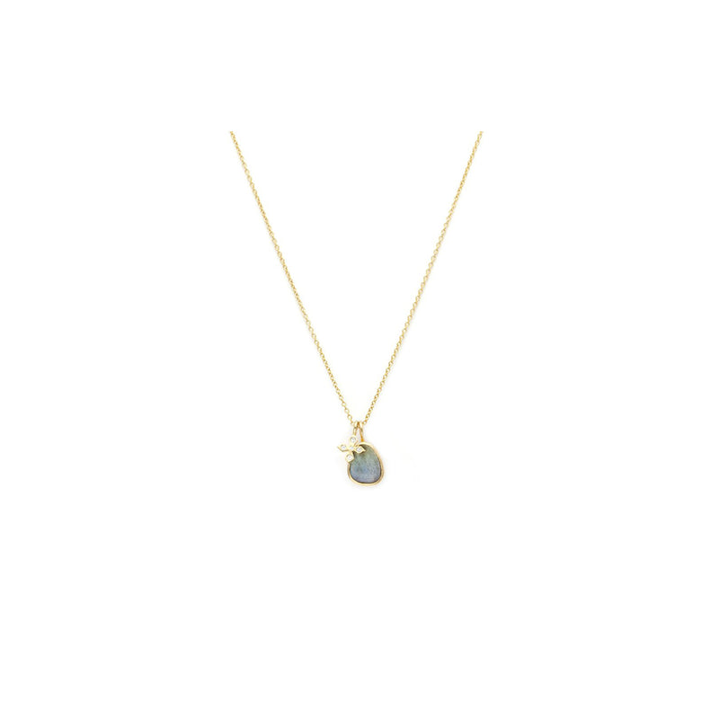 PAZ NECKLACE | LABRADORITE