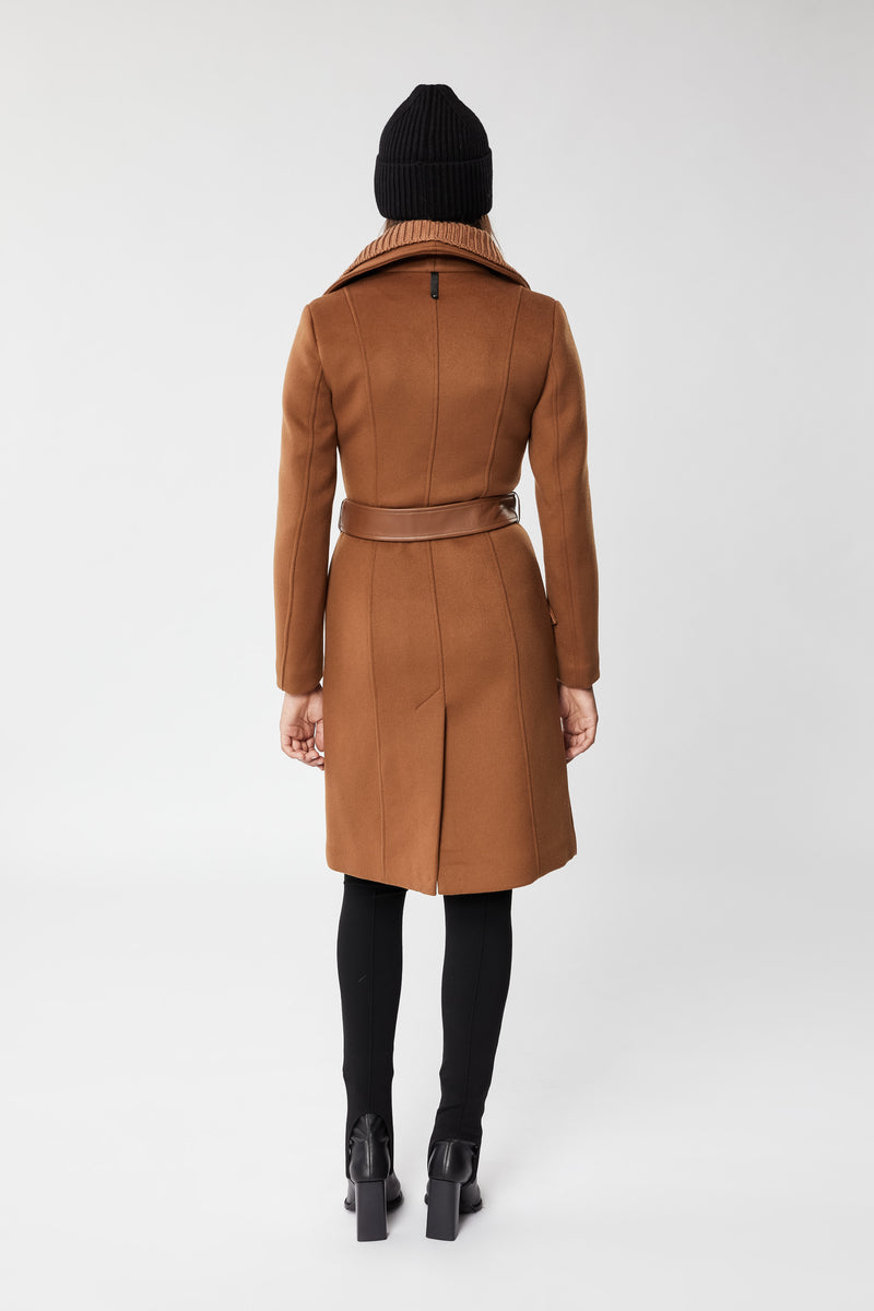 NORI WOOL COAT - CAMEL