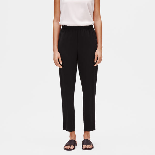 SYSTEM SILK GEORGETTE SLOUCHY PANT