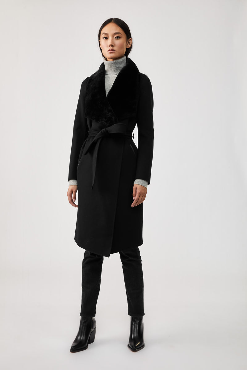 SYBIL DOUBLE-FACE WOOL COAT