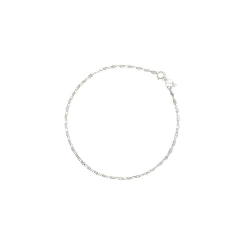 ORO ANKLET | SILVER