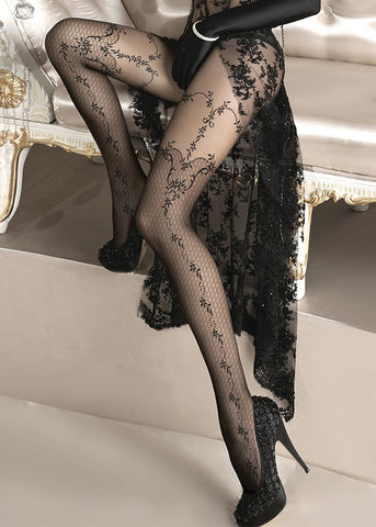 Ballerina Embroidered Tights 134