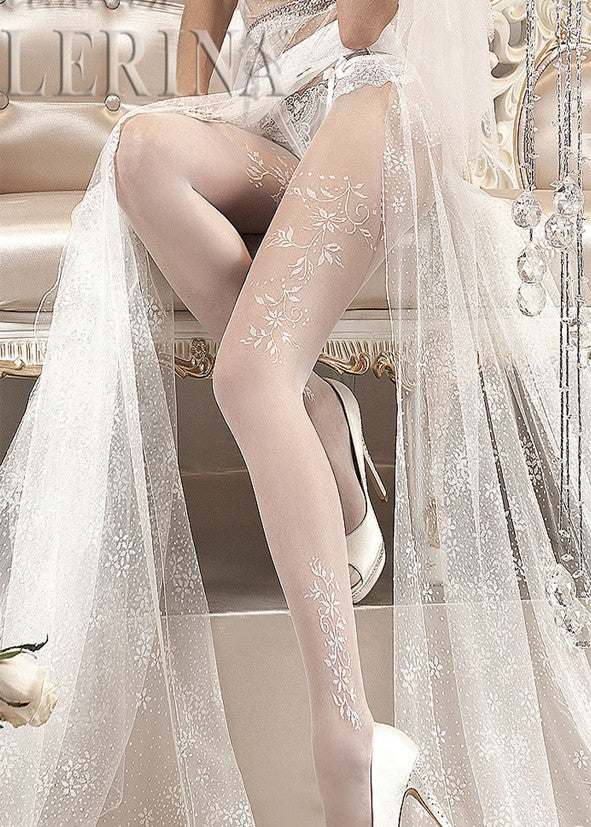 Ballerina Embroidered Tights 114