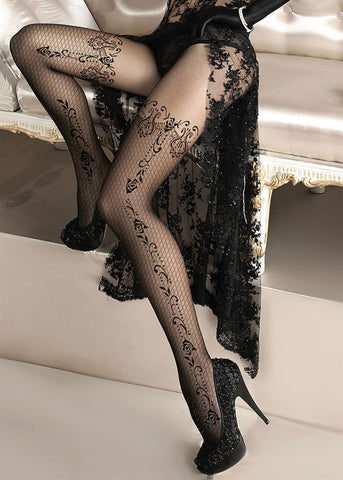 Ballerina Embroidered Tights 135