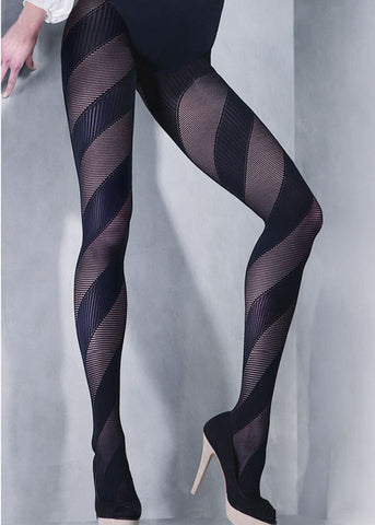 Gabriella Double Stripe Tights 388