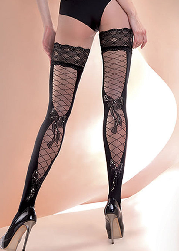 Gabriella Fishnet Hold Ups 246