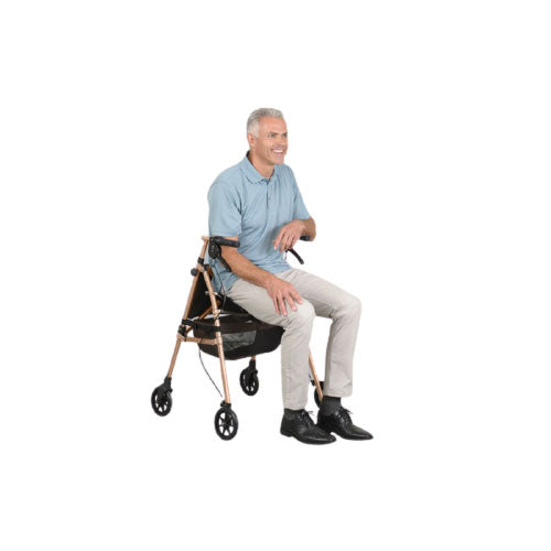 Elite Travel Rollator (Champagne)