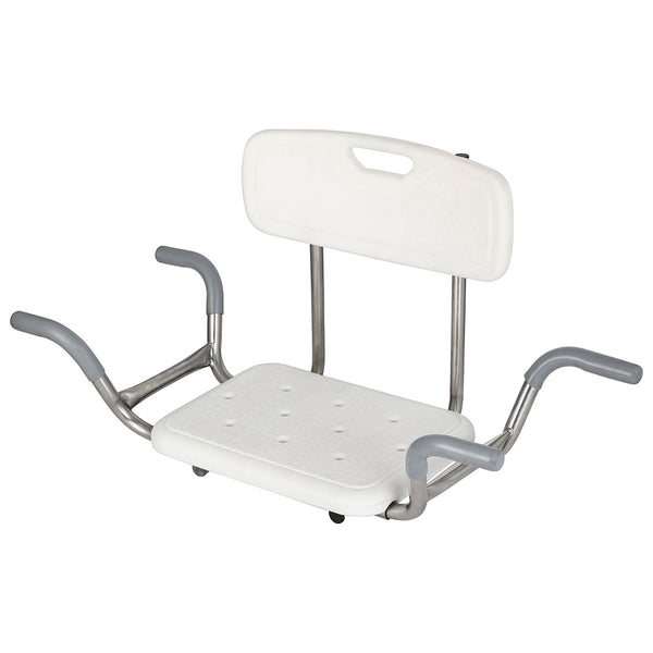 Evekare SS Bath Chair with Backrest