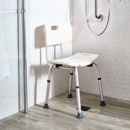 Height Adjustable Bathing Chair