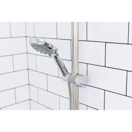 Evekare Adjustable Shower Slider 32mm Chrome/Grey