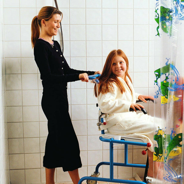 Etac Tripp Tilt Mobile Shower Commode for Children and Teens