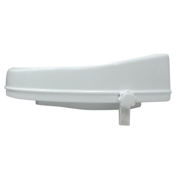 Fixed Height Toilet Seat Raiser - Ideal for travel or temporary use