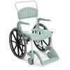Etac Clean Self Propelled Mobile Shower Commode 55cm Lagoon Green
