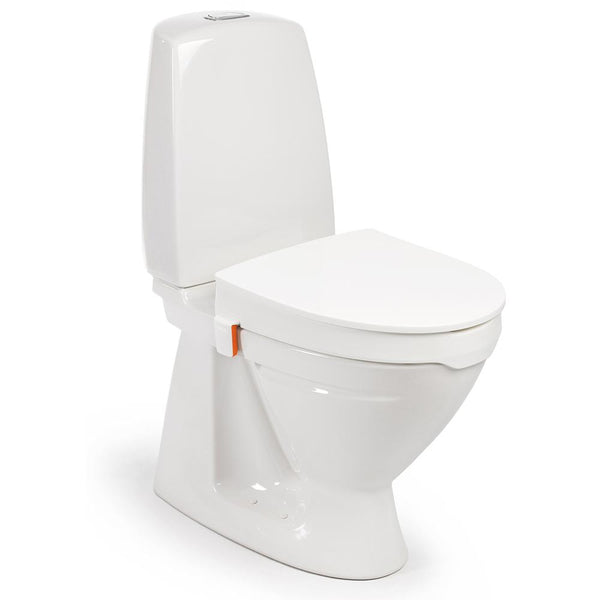 Etac My-Loo Toilet Seat Raiser with Lid and Bracket