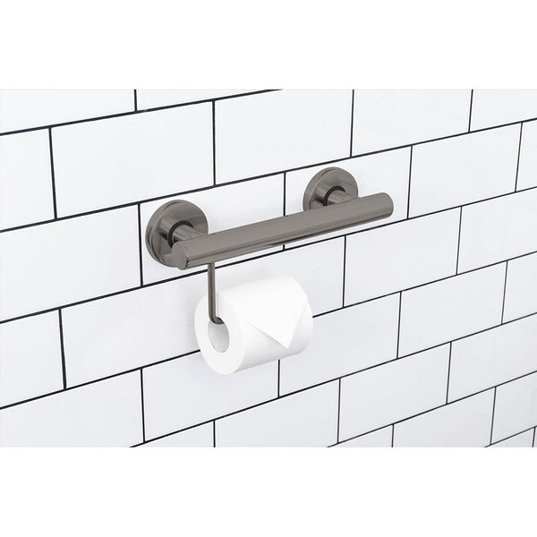 Evekare Toilet Roll Holder with Grab Rail