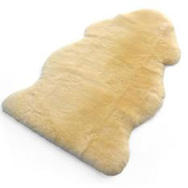 Natural Sheepskin Rug Hospital Grade - Gold