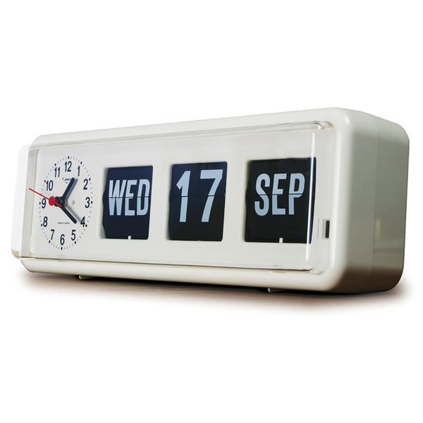 Jadco Long Calendar Clock