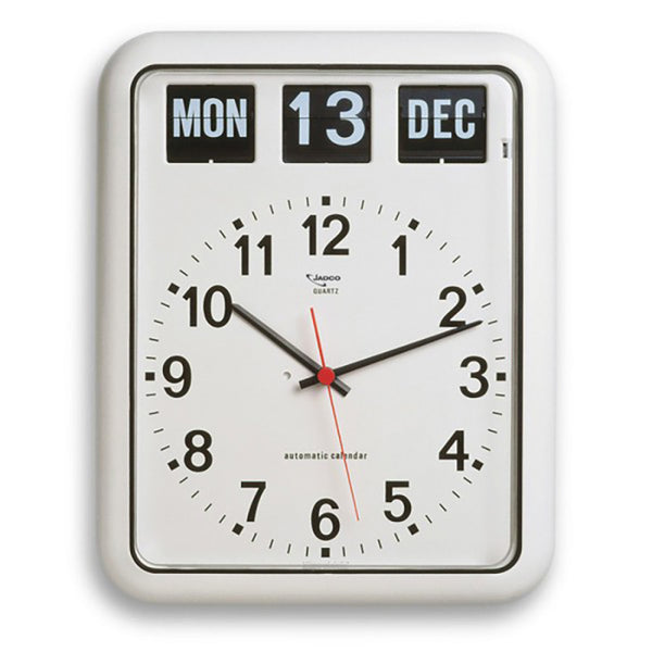 Jadco Wall Clock with Calendar Large