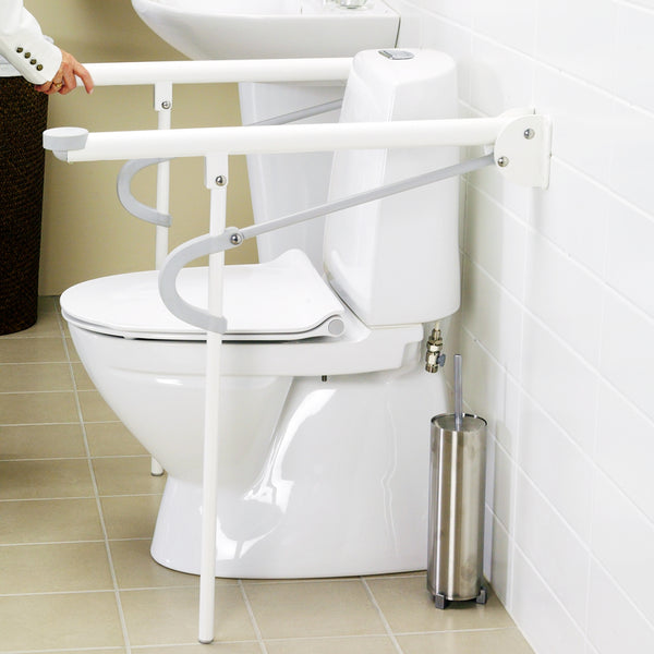 Optimal Toilet Arm Support