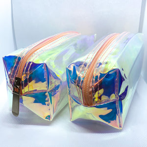 Prosperity Holographic Cosmetic Bag