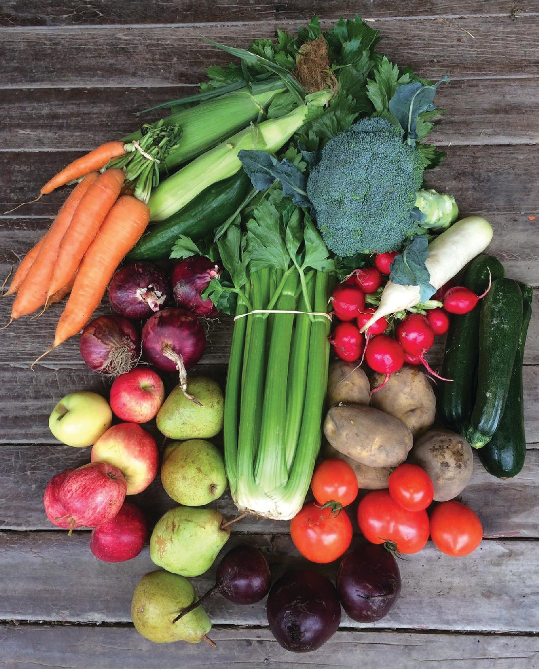Large Veg and Fruit - Seasonal Organic Box