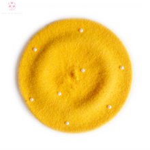 Load image into Gallery viewer, Bunny Beret Yellow