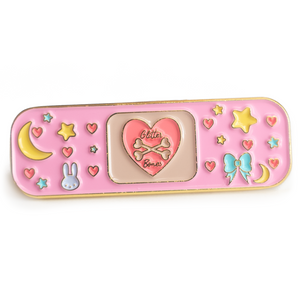 Decora Kawaii Bandaid Enamel Pin