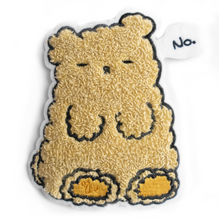 "Load image into Gallery viewer, Osito ""No"" Chenille Sew on Patch"