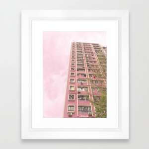 Views of Hong Kong Art Print