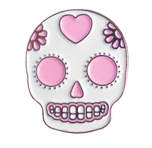 Load image into Gallery viewer, Sugar Skull Pin - Glitter Bones Boutique