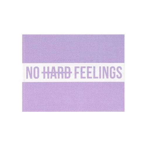 No Hard Feelings Vinyl Sticker - Glitter Bones Boutique