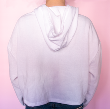 Load image into Gallery viewer, Cry Baby White Hoodie - Glitter Bones Boutique