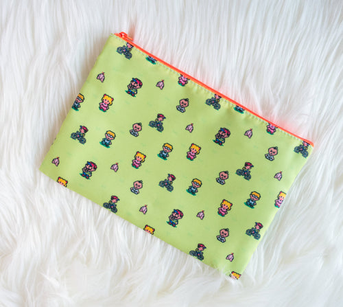 Earthbound Zippered Pouch - Glitter Bones Boutique