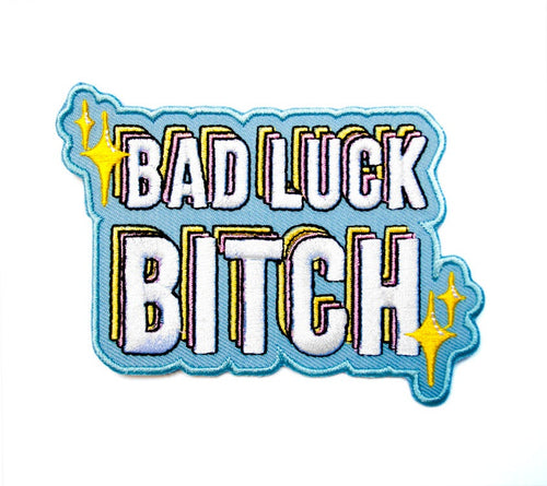 ✨ Bad Luck Bitch Patch ✨ - Glitter Bones Boutique